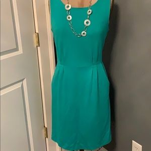 EUC GREEN LILLY PULITZER LINED DRESS